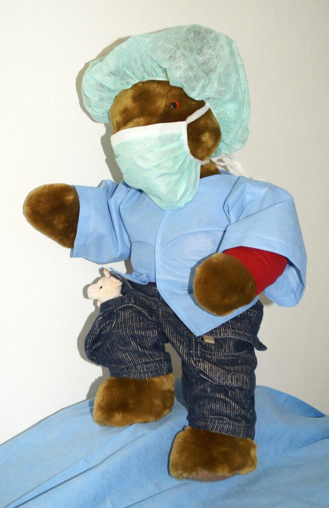 Brummel-steunt-Elsje-bij-de-dokter